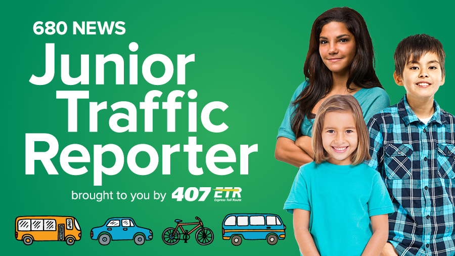 680 News Junior Traffic Reporter
